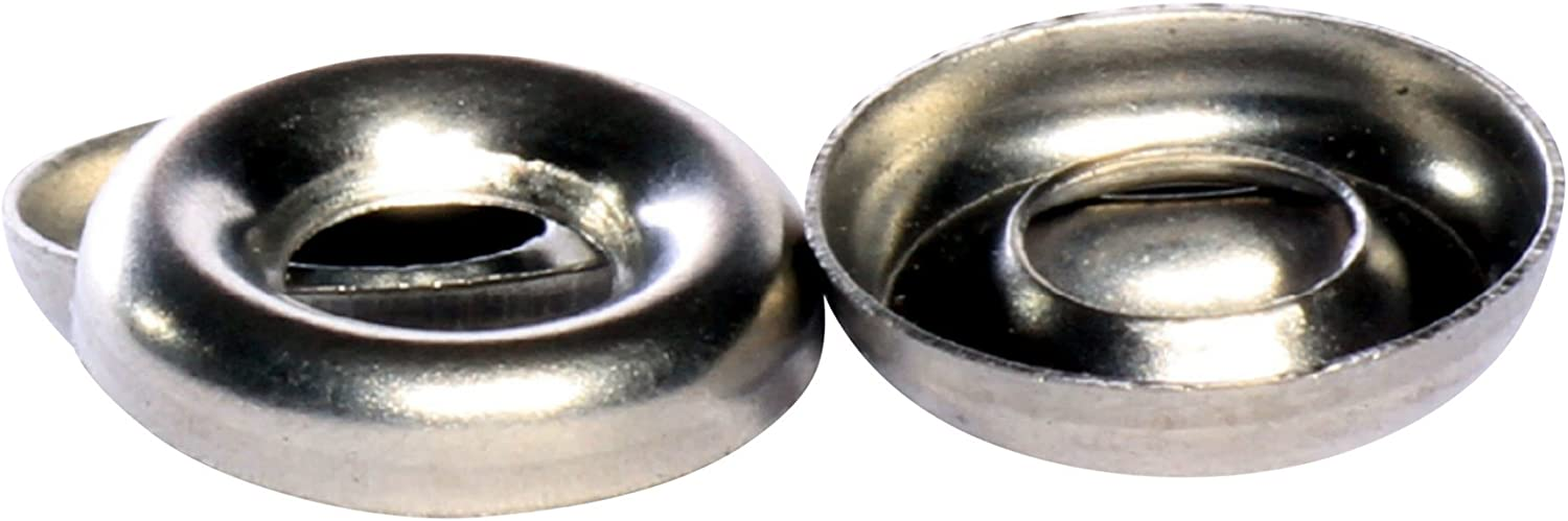 2500 pcs 18-8 #6 Flanged Countersunk Finishing Cup Washers AISI 304 Stainless Steel
