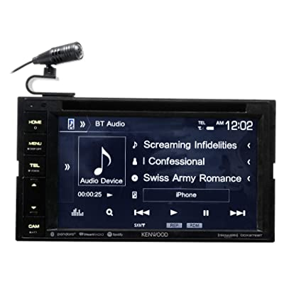 "Kenwood DDX276BT 6.2"" In-Dash Car DVD Monitor Bluetooth Receiver w/USB/Android: Automotive"