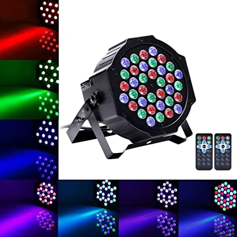 amazon com 36 led par lights stage lighting rgb led up lighting