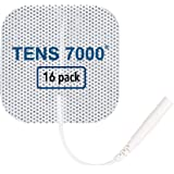 "TENS 7000 Official TENS Unit Pads - Premium Quality OTC TENS Pads, 2"" X 2"" - Compatible with Most TENS Machines…"