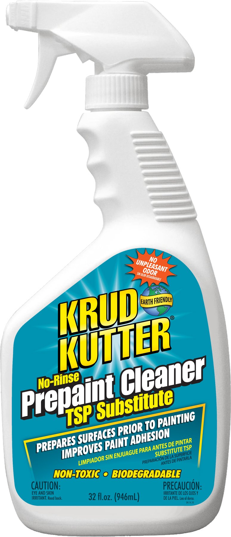 KRUD KUTTER PC32 Prepaint Cleaner/TSP Substitute, 32-Ounce by Krud Kutter