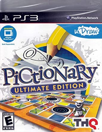 THQ uDraw Pictionary Ultimate Edition (PS3) - Juego: Amazon.es ...