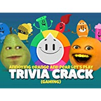 Clip: Annoying Orange and Pear Let's Play Trivia Crack (Gaming)