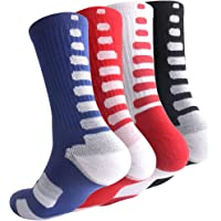 wholesale dealer 4290d 9107b Boys Sock Basketball Soccer Hiking Ski Athletic Outdoor Sports Thick Calf  High Crew Socks 6 Pack