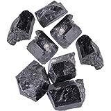 1Pcs Turmalina Natural,Turmalina Original,Cristal de Cuarzo Natural,Piedra Turmalina Negra,Material de Joya,Un Regalo Especial, Sobre 100g(5-7cm)