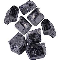 1Pcs Turmalina Natural,Turmalina Original, Cristal de Cuarzo Natural, Piedra Turmalina Negra, Material de Joya, Un…