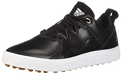 478ee0dc3efa adidas Men s JR Adicross PPF Golf Shoe core Black Silver Metallic Gum 1.5 M