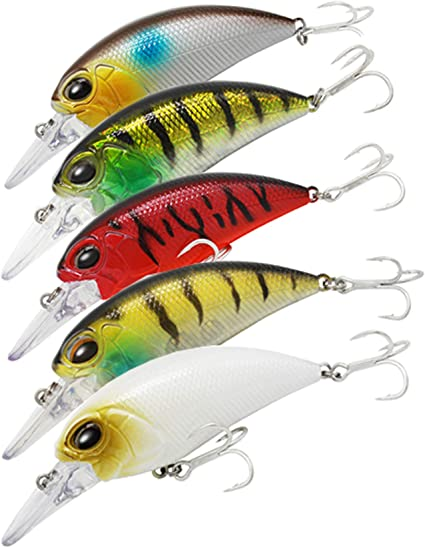 Minnow Fishing Lures Crank Bait Tackle Fishing Lures Crankbaits Hooks Bass Hot