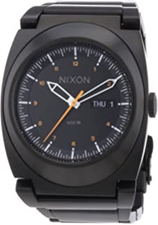 Nixon A358-577-00 Mens Don All Black and Orange Watch