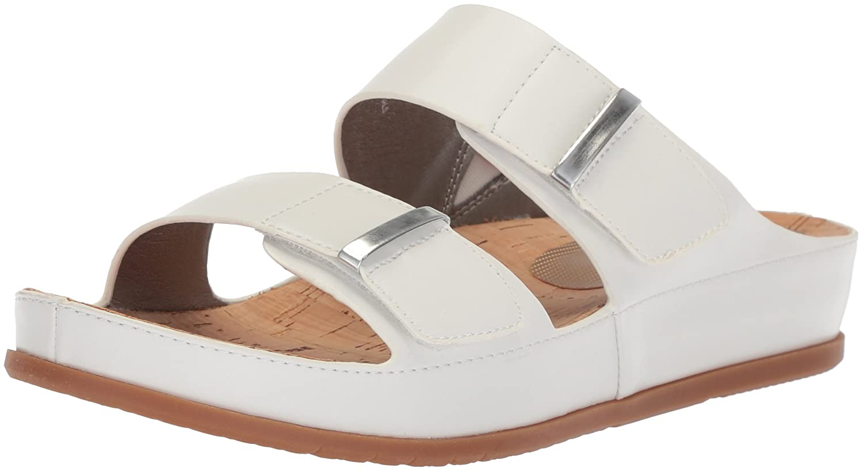 BareTraps Women's Cherilyn Slide Sandal B075X8KXQM 9 B(M) US|White
