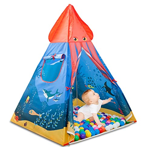 best authentic 5b96c 280c4 HAOCOO Kids Tent, Pop Up Baby Toys Play Tent House Princess Prince House  Castle Outdoor and Indoor as a for 1-8 Years Old Kids Boy Girls Toddler ...