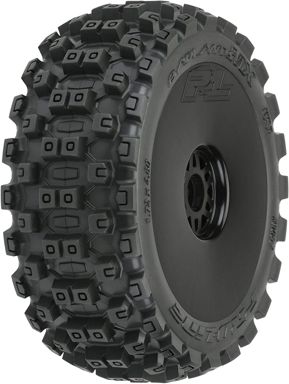 F//R : 1//8 Buggy Pro-line Racing Badlands MX M2 Mounted Black Wheels 2 PRO906741