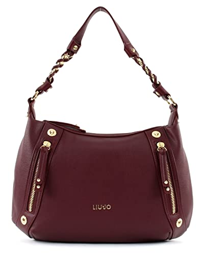 797096ce21c2 LIU JO Lavanda Shoulder Bag Dark Wine  Amazon.fr  Chaussures et Sacs