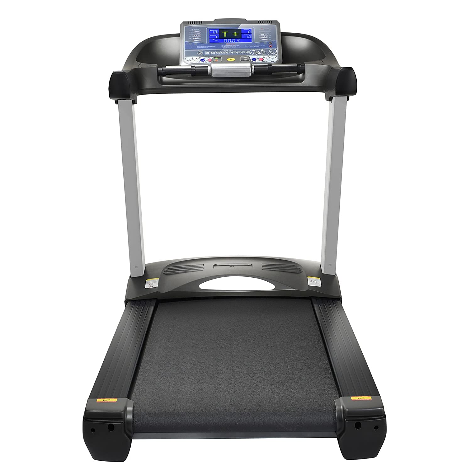 Sportstech F65 professional treadmill with 7 inch display