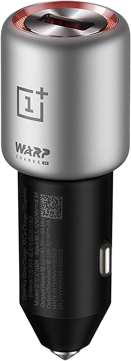 Oneplus Warp Charge 30 Car Charger Graphite Elektronik
