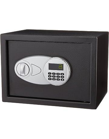 b2903e8e2 AmazonBasics - Caja fuerte (14L), color negro