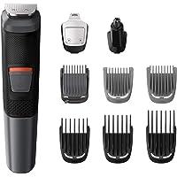 Philips MG5720/18 Recortadora 9 en 1 Maquina recortadora de barba y Cortapelos para hombre cara y cabeza, accesorios…