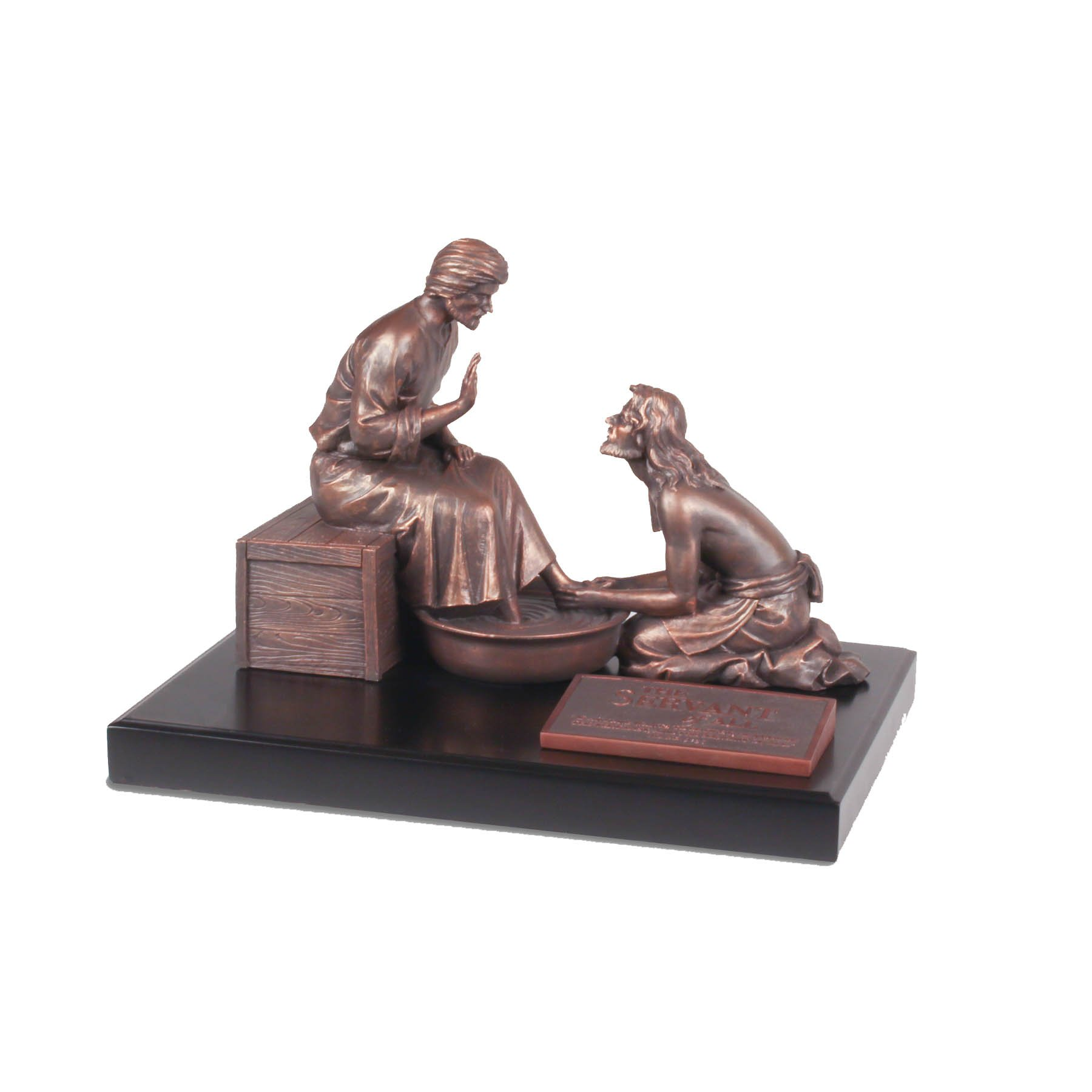 Lighthouse Christian Products Moments of Faith XL Humble Servant Sculpture, 14 x 10 1/2 x 11'' by Lighthouse Christian Products