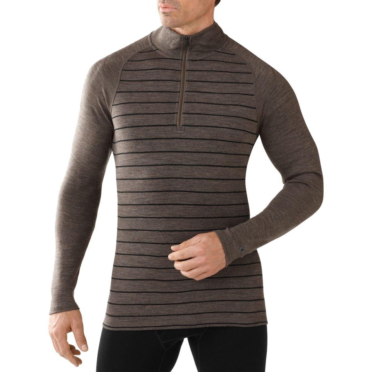 Smartwool Herren Unterhemd Shirt Langarm Men's NTS Mid 250 Pattern Zip T