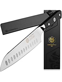 Amazon Com Santoku Knives Home Amp Kitchen