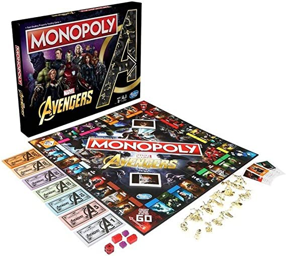 Hasbro Monopoly Avengers, Multicolor, única (5.01099E+12): Amazon.es: Juguetes y juegos