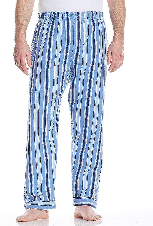 Mens Cotton Stripe Pants Pack of 2