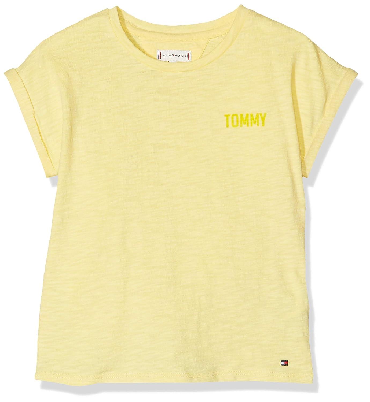 Tommy Hilfiger Bold Text Grown On S//S Tee T-Shirt Bimba