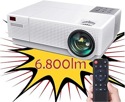 Opinión sobre Proyector 4K Compatible, Luximagen FUHD230 Full HD 1080p Nativo 6.800 lúmenes , Dolby AC3 Corrección Digital 4D, hasta 300