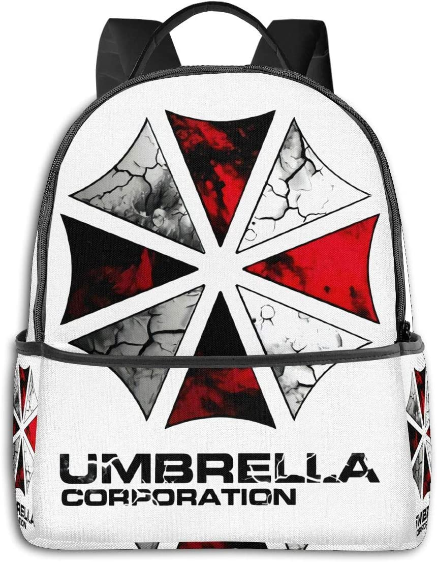Backpack Resident Evil Umbrella Corporation Laptop Backpack Fashion Theme School Backpack