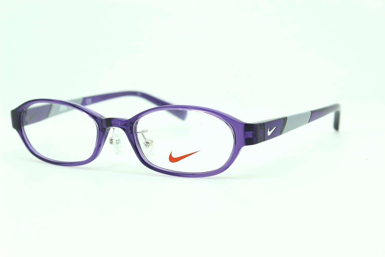 NIKE ナイキ 子供用 メガネフレーム 5008AF 501 専用ケース付属 眼鏡 KIDS アジアンフィット   B07BW82M4X