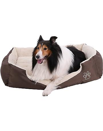 SONGMICS Cómodo Casa para Mascotas, Cama para Perros Perro De Perrito Sofa 75 x 58