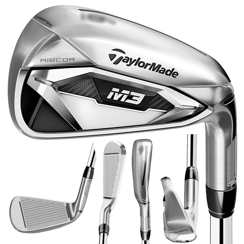 TaylorMade M3 Individual Iron 2018 Right 3 MRC Tensei Blue 70 Graphite Regular by TaylorMade (Image #1)