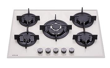 Millar GH7051PM 70 cm gas-cocina vitrocerámica - BEIGE ...