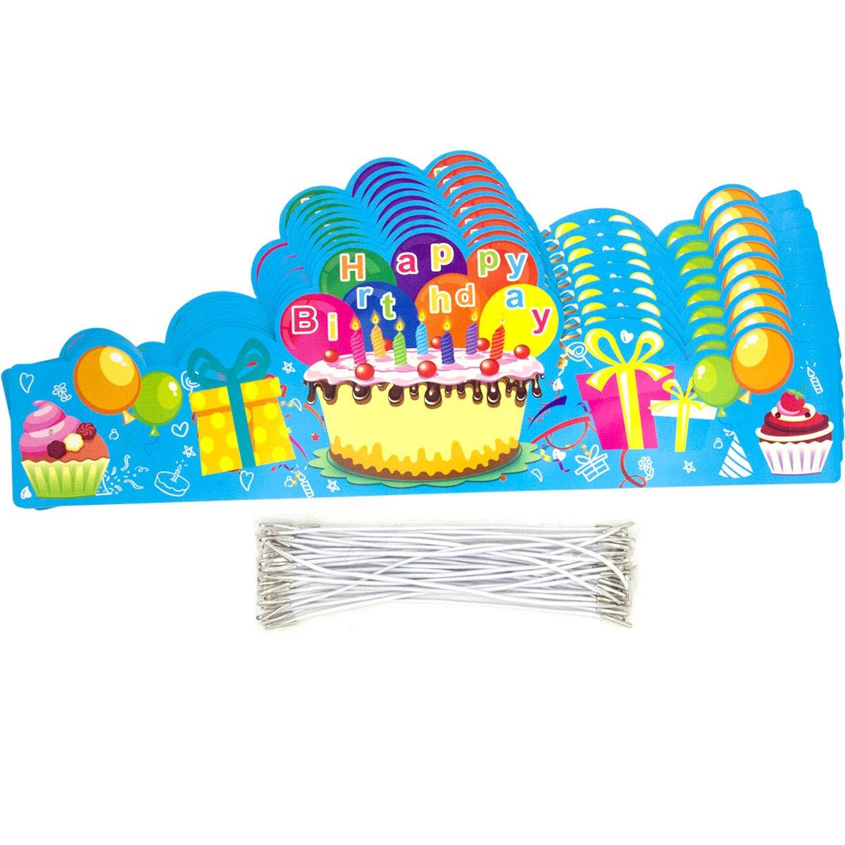 Amazon.com: Happy Birthday Coronas para VBS Classroom Kids ...