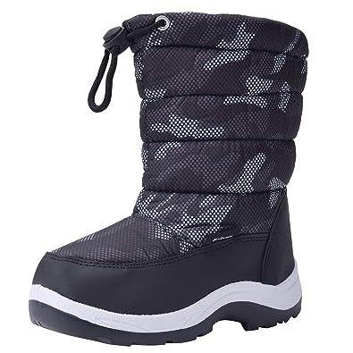 2f2521ada7ebe snofiy スノーブーツ 男の子 ブーツ キッズ 子供靴 雪靴 ボア 保温 防水 スキー 雪遊び
