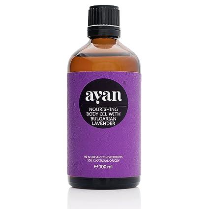 Champú Ayan cosmética natural 100 % orgánico, sin silicona, sin parabenos, aceite de