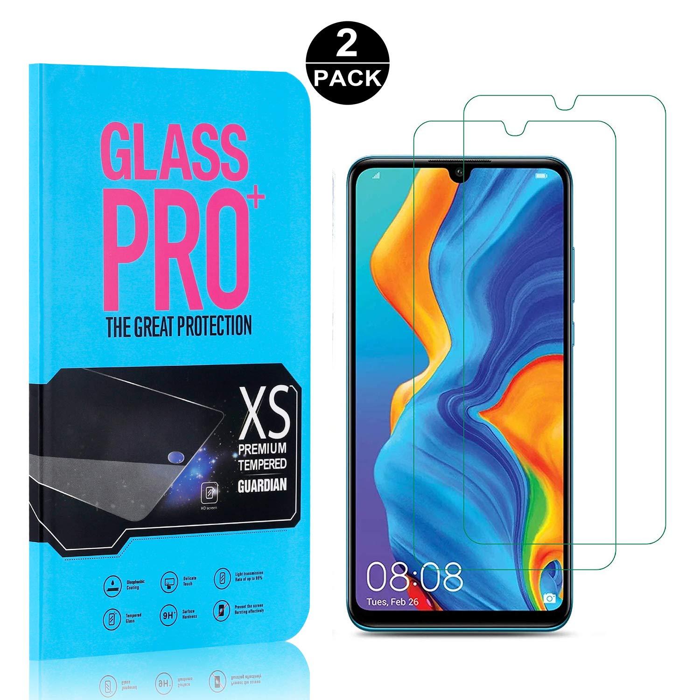 Anti graffio Alta Definizione Elevata Durezza Vetro Temperato Compatibile con Huawei P30 Lite 2 Pezzi SONWO Huawei P30 Lite Vetro Temperato Senza Bolle