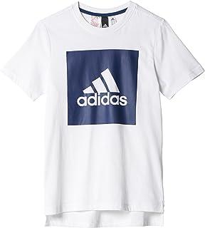 adidas YB Logo Tee 2, Maglietta Bambino BJ9348