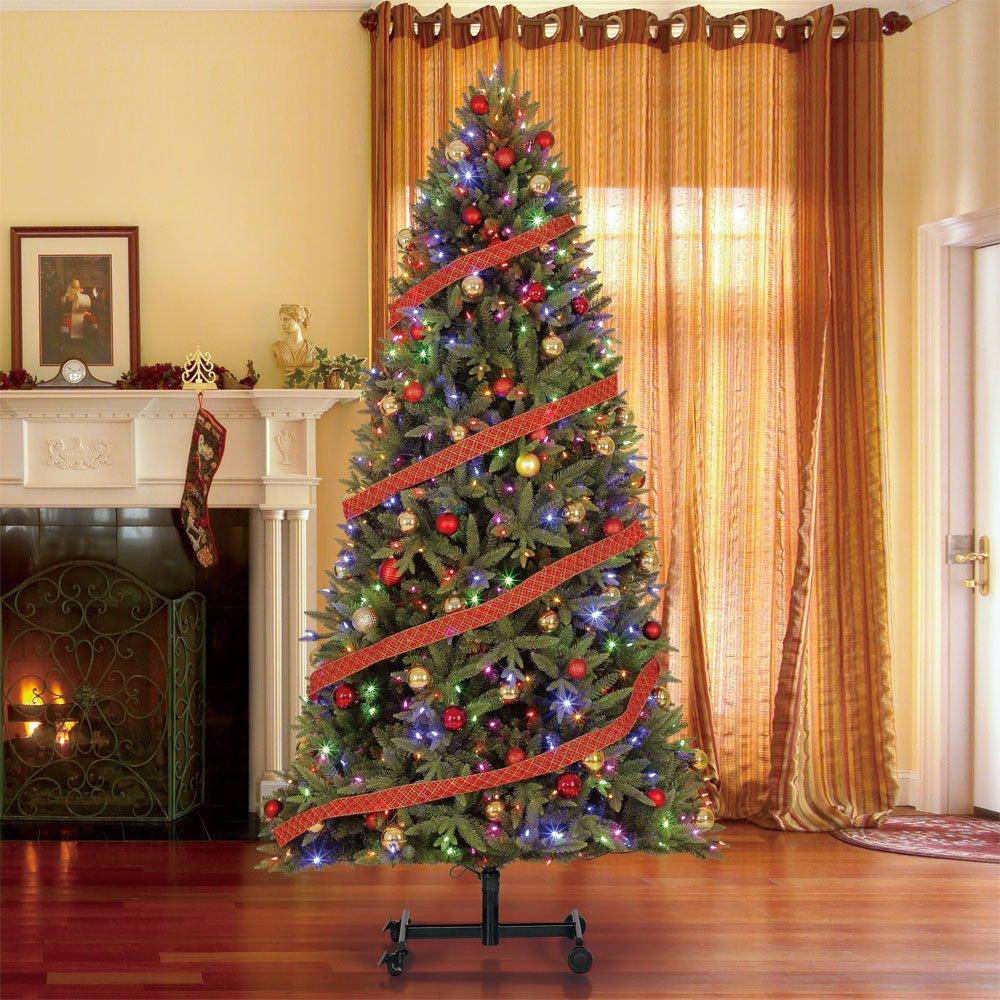 Home Heritage Alaska 7' - 9' Grow & Stow Dual Colored Light Christmas Tree by Home Heritage (Image #6)