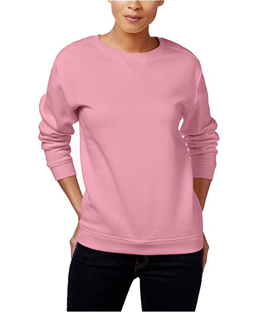 586ea853175 Karen Scott Women s Sweatshirt (Mellow Rose