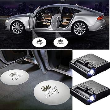 Her King His Queen - 2 proyectores LED universales para puerta de ...