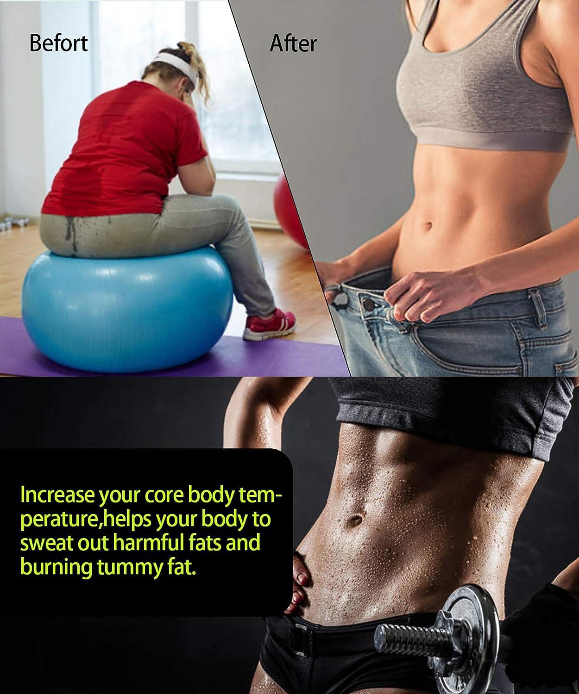 LODAY Women Neoprene Sauna Sweat Waist Trainer Vest for Weight Loss Gym Workout Body Shaper Tank Top Shirt LODAY-D07278733XL-Q91-US-YH1
