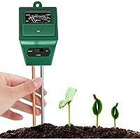 مقياس درجة حموضة التربة 3 في 1 من بيربرو، مجموعة اختبار الرطوبة، مقياس رطوبة التربة، رائع للمنزل والحديقة، والمزرعة…