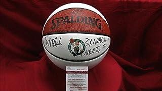 Kevin Mchale Autographed Signed Auto Celtics Logo Basketball W/2 Inscriptions JSA Wp 643275