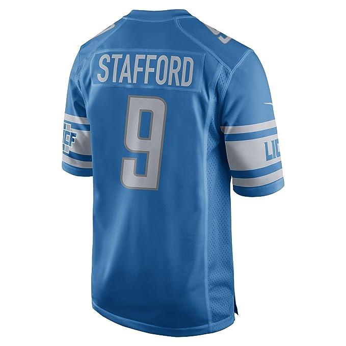 fe74b2f4 Nike NFL Youth Detroit Lions Matthew Stafford #9 Jersey, Blue