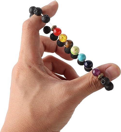Black Lava 6 12\u201d Healing Bracelet
