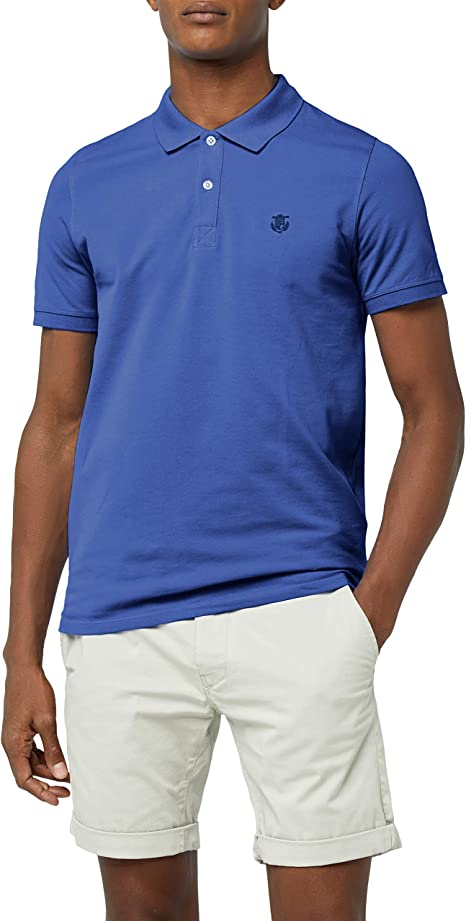 Selected Homme NOS Mens Slhtwist Ss Polo W Noos Shirt