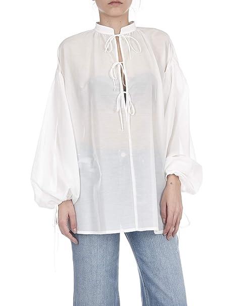 quality design 852fa ed96c Camicia Ampia Liu Jo Panna: Amazon.it: Abbigliamento