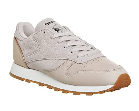 46d3805137e Image Unavailable. Image not available for. Color  Reebok Classic Leather  Golden Neutral Womens Sneakers Nude