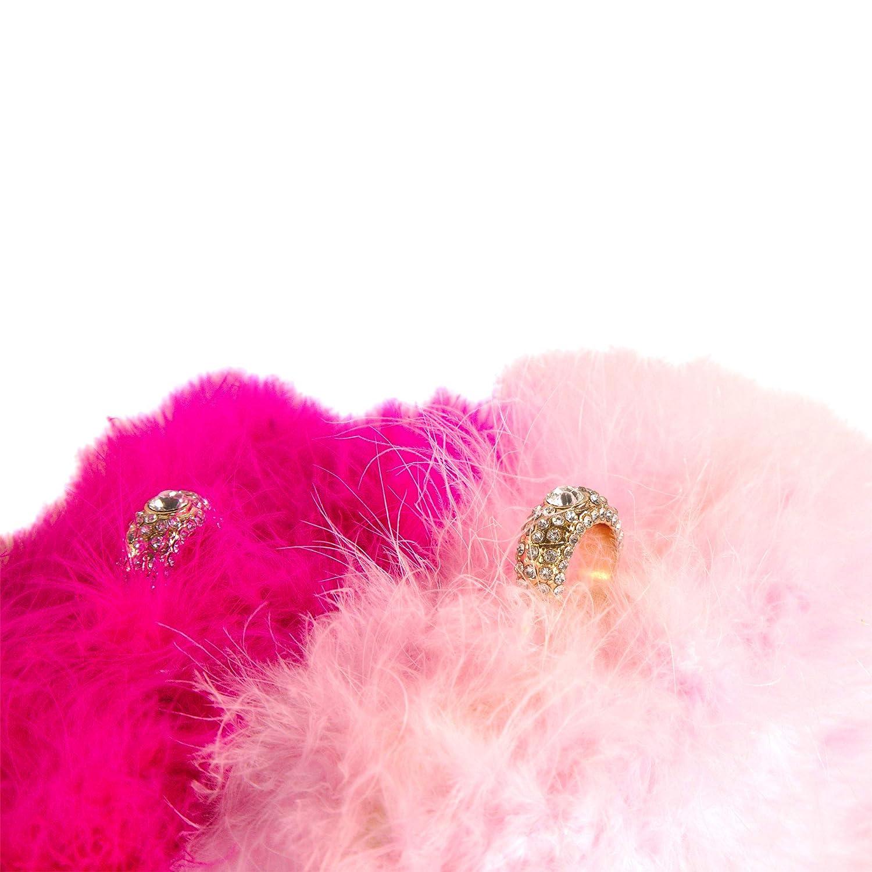 8e6ecae4343 Bewaltz posh style Fluffy Fur Clutch Faux Fur Handbag Evening Clutch Gray   Handbags  Amazon.com